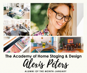 The Academy of Home Staging & Design Alumni of the Month January